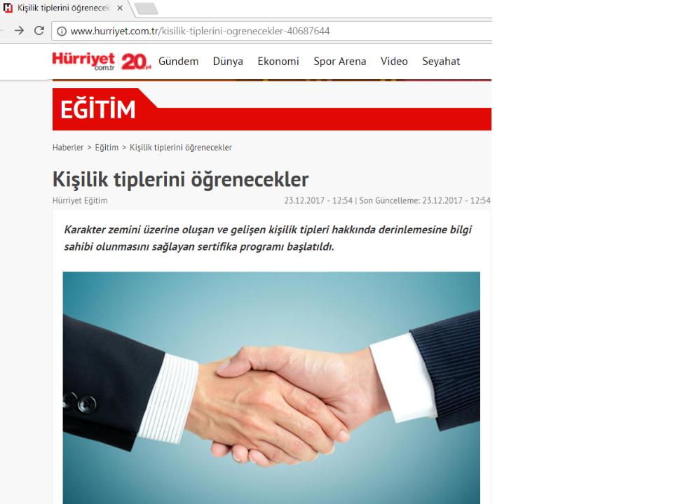 Enneagram Metodoloji Eğitimi Türkiyede Beykoz Üniversitesinde uygulanmaya başlanıyor.